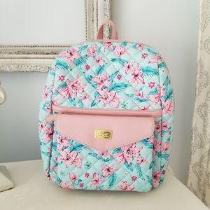 Betsey Johnson Backpack w Shoulder Bag